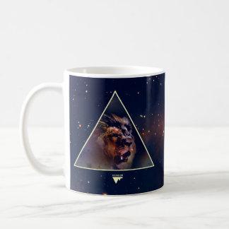 Galaxy Triangle Lion Head - Trendium Authentic Coffee Mug