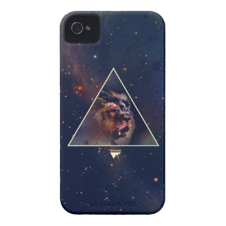 Galaxy Triangle Lion Head - Trendium Authentic iPhone 4 Case