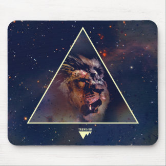 Galaxy Triangle Lion Head - Trendium Authentic Mouse Pad