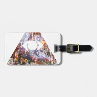 Galaxy Triangle Bag Tag