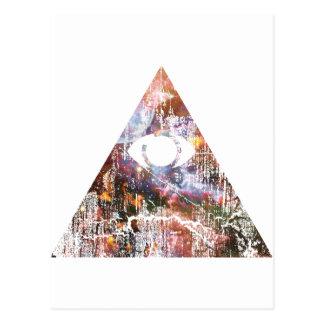 Galaxy Triangle Postcard