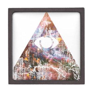 Galaxy Triangle Premium Keepsake Boxes