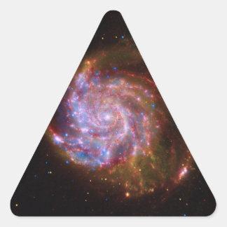 Galaxy Triangle Stickers