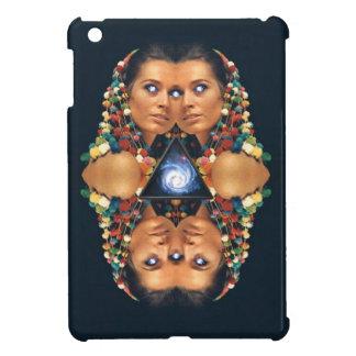 """Galaxy Twins I"" Psychedelic Art Print iPad Mini Case"