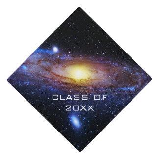 Galaxy Unknown Graduation Cap Topper