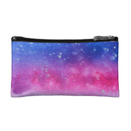 Galaxy Watercolour Makeup Bag