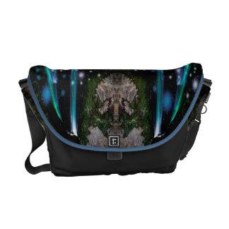 Galaxy Waterfall Rickshaw Messenger Bag