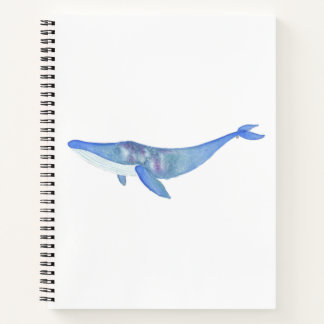 Galaxy Whale Notebook
