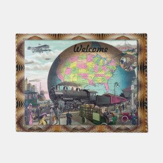 Galaxy World Doormat
