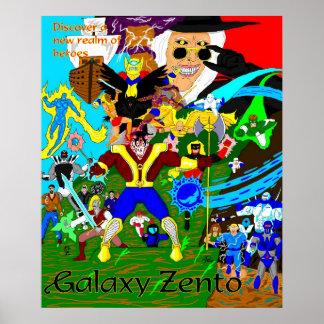 Galaxy Zento Heroes Poster