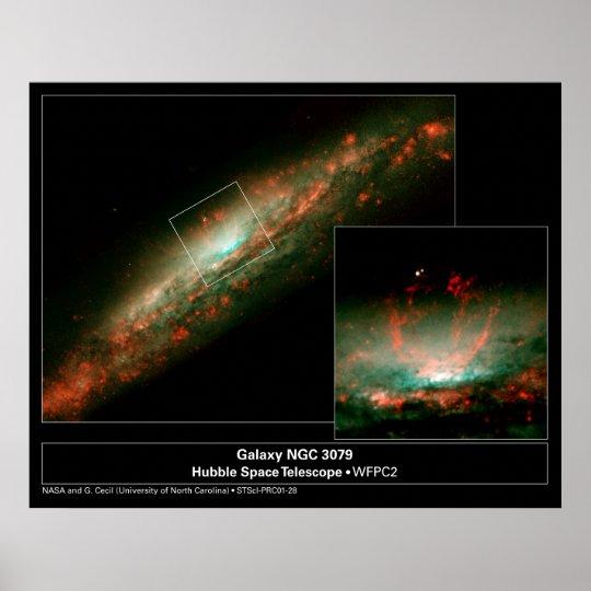 GalaxyNGC3079-2001-28a Poster
