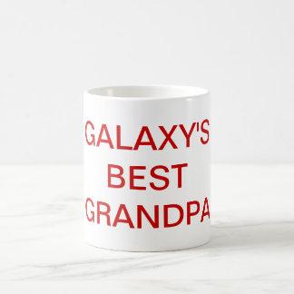 Galaxy's Best Grandpa Mug