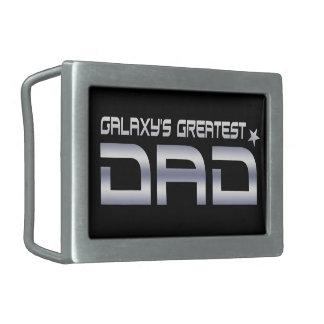 Galaxy's Greatest Dad Belt Buckle