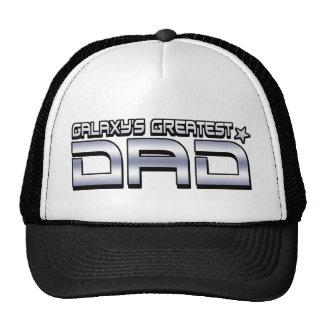 Galaxy's Greatest Dad Trucker Hat