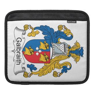 Galbraith Family Crest Sleeve For iPads