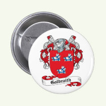Galbraith Family Crest Button