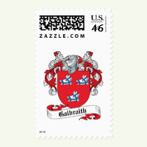 Galbraith Family Crest Stamps