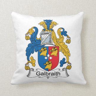 Galbraith Family Crest Throw Pillow