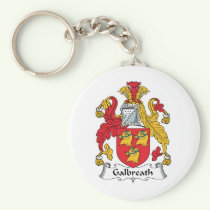 Galbreath Family Crest Keychain