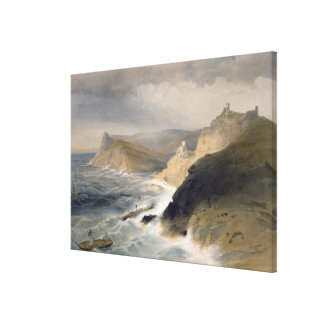 Gale off the Port of Balaklava, November 14th 1854 Stretched Canvas Prints