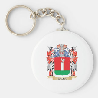 Galea Coat of Arms - Family Crest Keychain