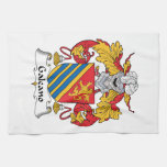Galeano Family Crest Hand Towels