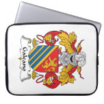 Galeano Family Crest Laptop Computer Sleeves