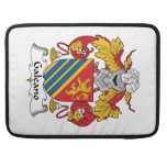 Galeano Family Crest MacBook Pro Sleeves