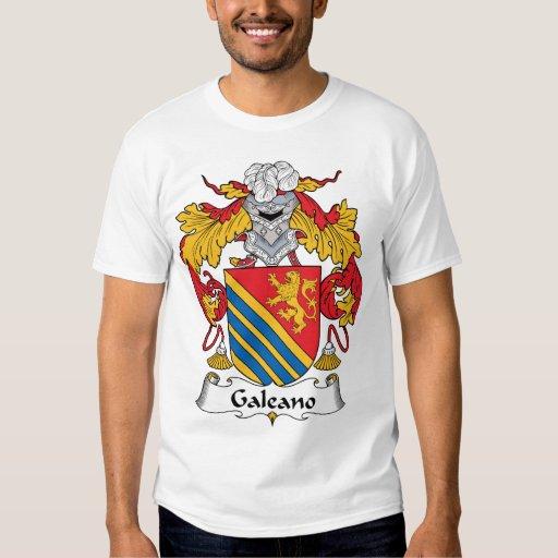 Galeano Family Crest T Shirt