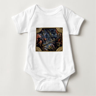 Galeas For Montes by Tintoretto Baby Bodysuit