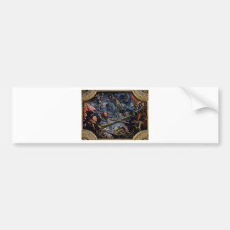 Galeas For Montes by Tintoretto Bumper Sticker