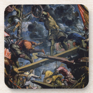 Galeas For Montes by Tintoretto Coaster