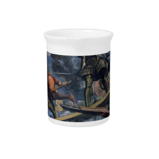 Galeas For Montes by Tintoretto Pitchers
