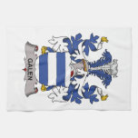 Galen Family Crest Hand Towels