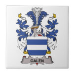 Galen Family Crest Tile