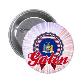 Galen, NY Button