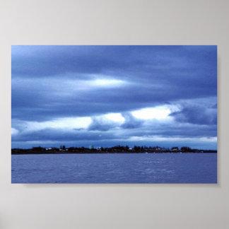 Galena del río Yukón Impresiones