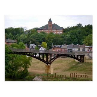 Galena, Illinois Postcard