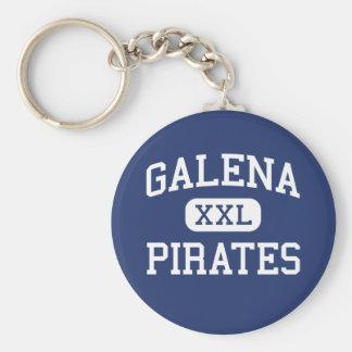 Galena - piratas - High School secundaria - galena Llaveros Personalizados