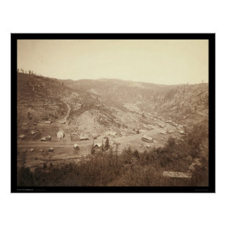 Galena South Dakota 1890 Posters