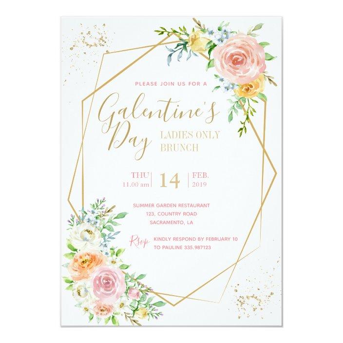 Galentine S Day Party Invitation Zazzle Com