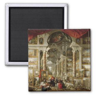 Galería con vistas de Roma moderna, 1759 Iman De Nevera