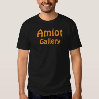Galería de Amiot - negro Playeras