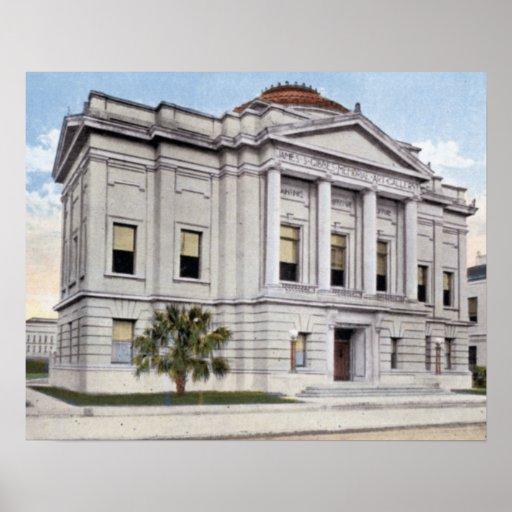 Galería de arte de Charleston Carolina del Sur Gib Impresiones