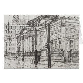 Galería de arte de la ciudad Manchester. 2007 Tarjeta De Felicitación