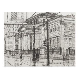Galería de arte de la ciudad Manchester. 2007 Tarjeta Postal