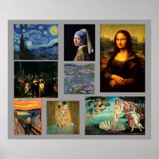 Galería de arte de la obra maestra póster