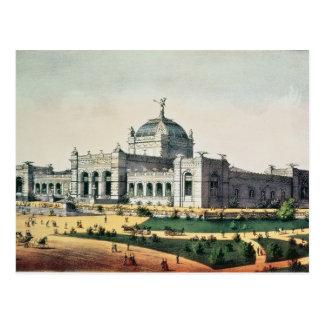 Galería de arte tarjeta postal