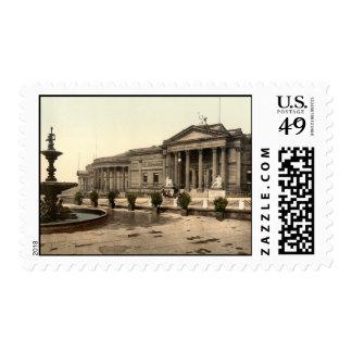 Galería de arte y museo, Liverpool, Inglaterra Franqueo