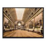 Galería de batallas, vintage Pho de Versalles, Fra Tarjetas Postales